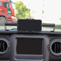 ABKT Car Mount Multi Function Mobile Phone GPS Holder for Jeep Wrangler JL JLU 2018 2019 Car Interior Accessories