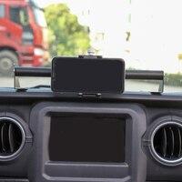 Abkt-suporte do telefone móvel da multi-função da montagem do carro gps para jeep wrangler jl jlu 2018-2019 acessórios interiores do carro
