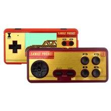 Daten Frosch Tragbare Handheld Spiel 2 Spieler Gebaut In 638 Klassische Spiele Konsole 8 Bit Retro Video Spiel Für Geschenk unterstützung AV Out Setzen
