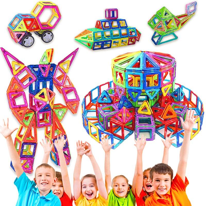 Big Size Magnetic Toys Building Blocks Magnetic Designer Construction Set Building Toy Magnet For Children