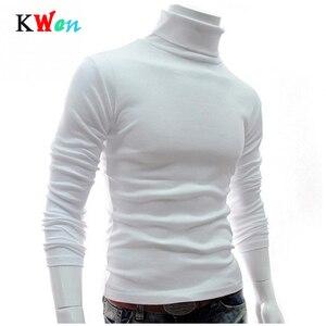 New Men Turtleneck Sweater Long Sleeve S
