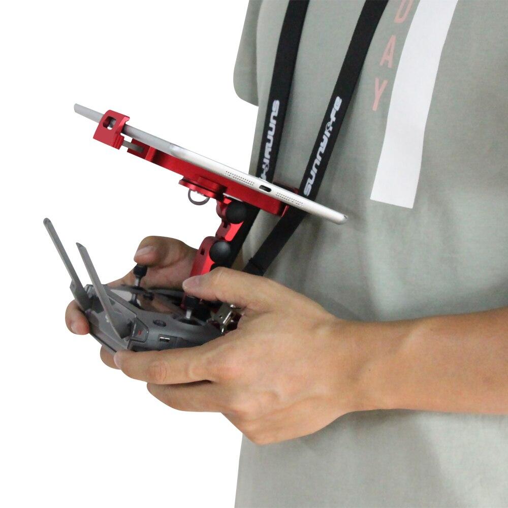Mettre à jour les tablettes support de téléphone w support de pince en métal pour DJI Mavic Mini Air étincelle support à distance pour téléphone ipad - 2