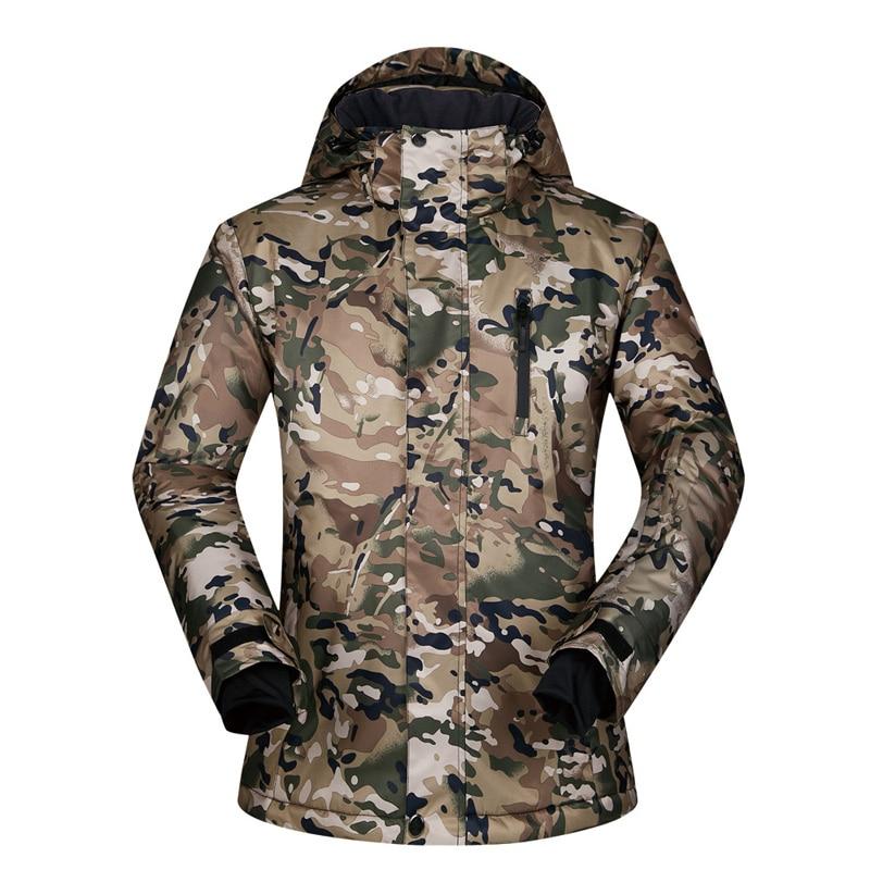 2019 nouvelle veste imperméable pour hommes Ski sweat à capuche pour homme veste de Snowboard mâle Ski vêtements hommes Sports vestes coupe-vent hommes veste