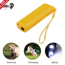 Training-Control-Device Trainer Repeller Stop Pet-Dog Anti-Barking-Stop Ultrasonic LED