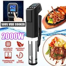 2000 Вт 15л вакуумная медленная Sous Vide пищевая плита мощный погружной циркулятор машина ЖК цифровой таймер дисплей Нержавеющая сталь