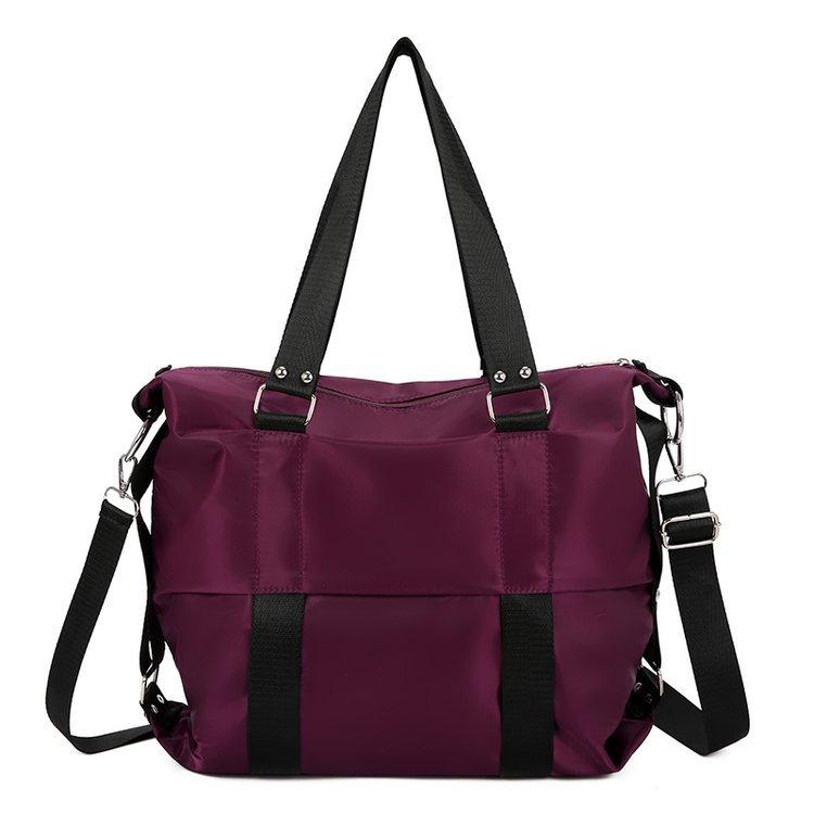 WOMEN'S Bag 2019 New Style Korean-style Casual Big Bag Large Capacity Nylon Shoulder Bag Mommy Shoulder Lv Xing Bao Dai
