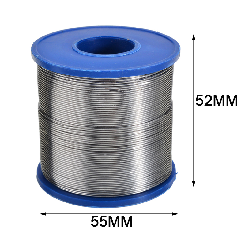 1 Roll 500g <font><b>60</b></font>/<font><b>40</b></font> Tin Lead <font><b>Solder</b></font> Wire 0.7mm 0.8mm 2mm Rosin Core Soldering 2% Flux Reel Welding Line For Soldering Accessories image