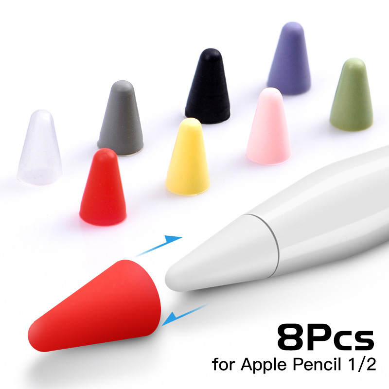 Multifunction Dual Heads Ends Round Touch Capacitive Screen Drawing Pen Stylus