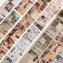 63x460mm vintage washi fita 1900s série diy scrapbooking planejador diário material adesivos estéticos para artigos de papelaria