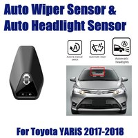 لتويوتا يارس L 2016 ~ 2019 الذكية السيارات القيادة مساعد نظام سيارة التلقائي المطر ممسحة أجهزة الاستشعار و المصباح R & D الاستشعار