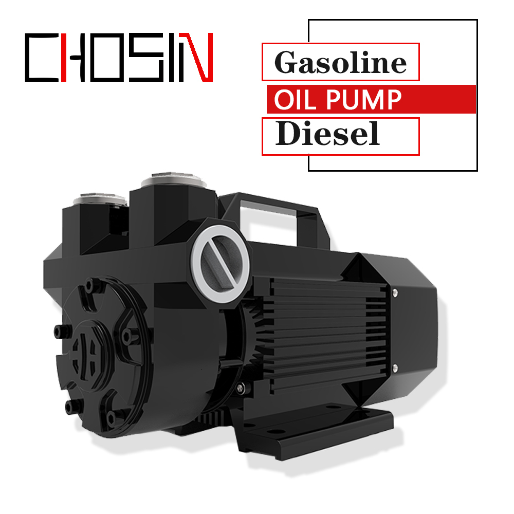 12V 24V Gasoline Pump With Explosion-proof System Self-Priming Electric Oil Micro Pump, Diesel Pump 600 W 60l/min