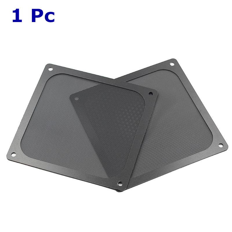 5PCS 12x24CM PC Computer Chassis Fan Cover Magnetic Dust-proof Filter Mesh