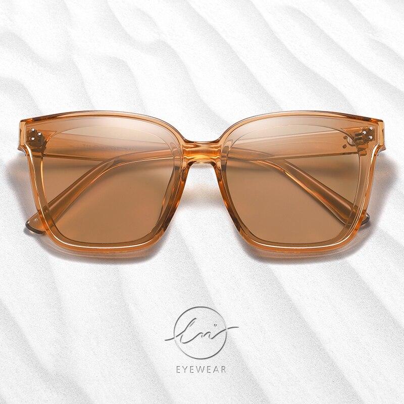 Купить lm женские большие квадратные солнцезащитные очки поляризованные