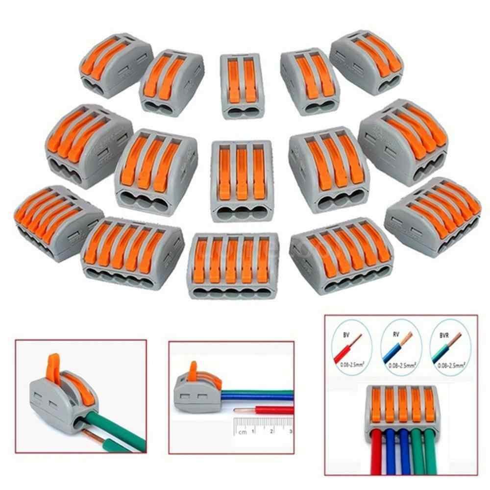 Universele Crimp Terminals Block Plug-In Elektrische Draad Connector 222-412 413 414 415 418 SPL-2 3 Type bedrading Kabel Connector
