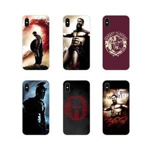 Spartan 300 Filme Guerreiro Macio Transparente Capa Shell Para Samsung Galaxy J1 J2 J3 J4 J5 J6 J7 J8 Plus prime 2018 2015 2016 2017