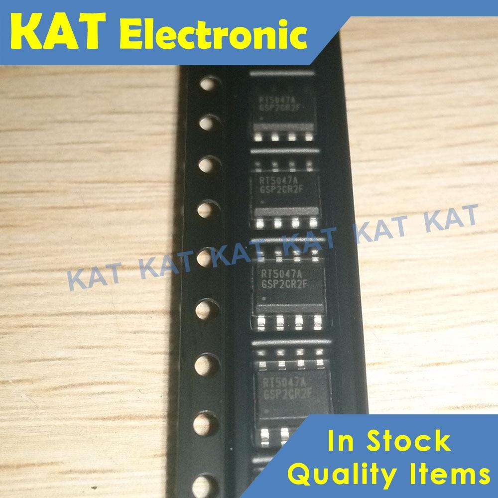 5PCS/Lot RT5047A RT5047AGSP SOP-8 New&Original Single Output LNB Supply And Control Voltage Regulator