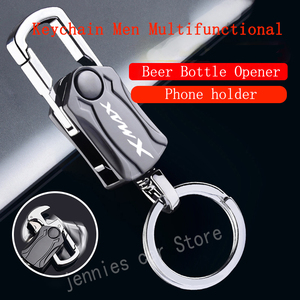 Image 2 - motorcycle Key Chain Keychain Metal Multifunction Keyring For Yamaha XMAX X MAX 125 250 300 400 2017 2018 2019 2020 Accessories