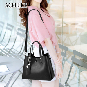 Image 5 - ACELURE Luxury Handbags Women Bags Designer New Fashion PU Leather Women Bag Woman Tote Bags for Women Casual Ladies Hand Bags