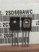 10 قطعة 2SD669A 2SD669 D669 منتج جديد الأصلي صنع في اليابان to 126