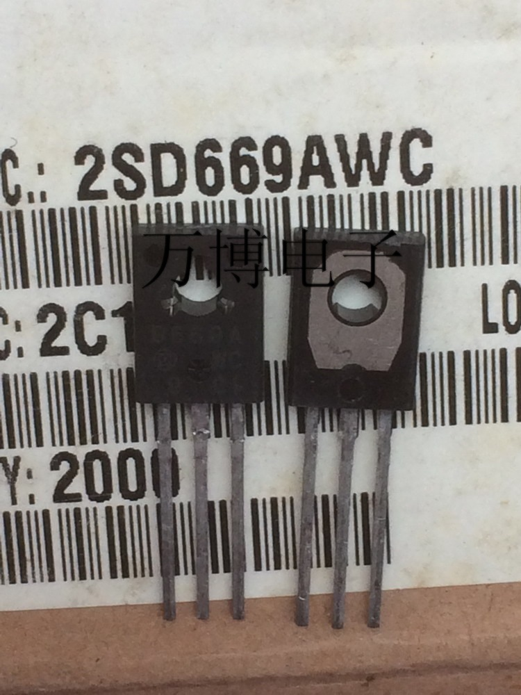 10pcs  2SD669A 2SD669 D669 New Product Original  Made In Japan To-126