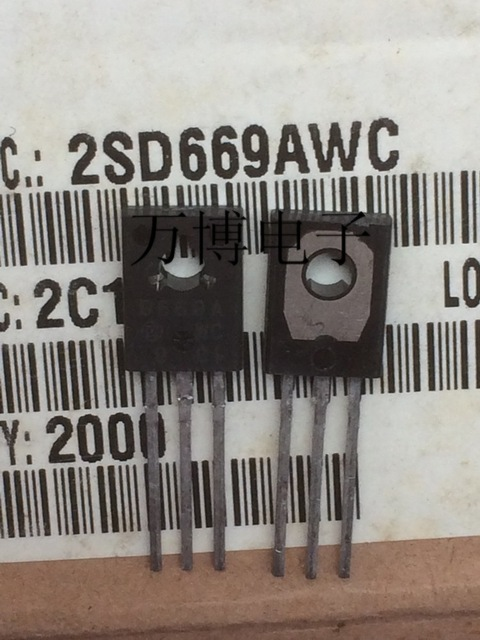 10pcs  2SD669A 2SD669 D669 New product original  Made in Japan to 126