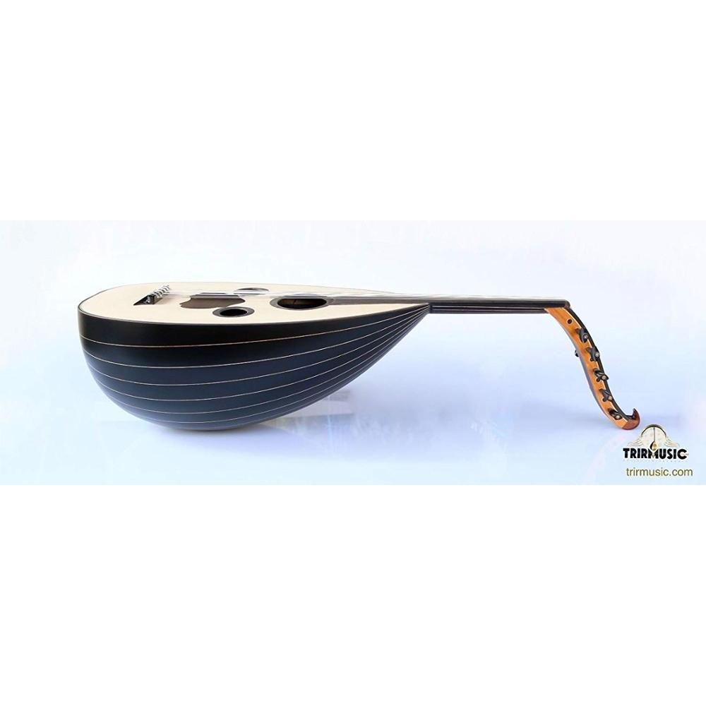 Árabe árabe negro hecho a mano nogal de instrumento MUSICAL OUD UD AOUD AAO-108M para venta