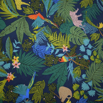 Tissu en coton et lin fond bleu foncé | Robe de chemise bazin riche getzner telas por metro tissus tela stoffen bricolage