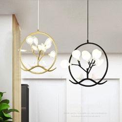 Nordic kreatywny mały żyrandol przemysłowe osobowości ganek restauracja przejściach i korytarzach balkon ganek sypialnia proste ciepłe wiszące u nas państwo lampy