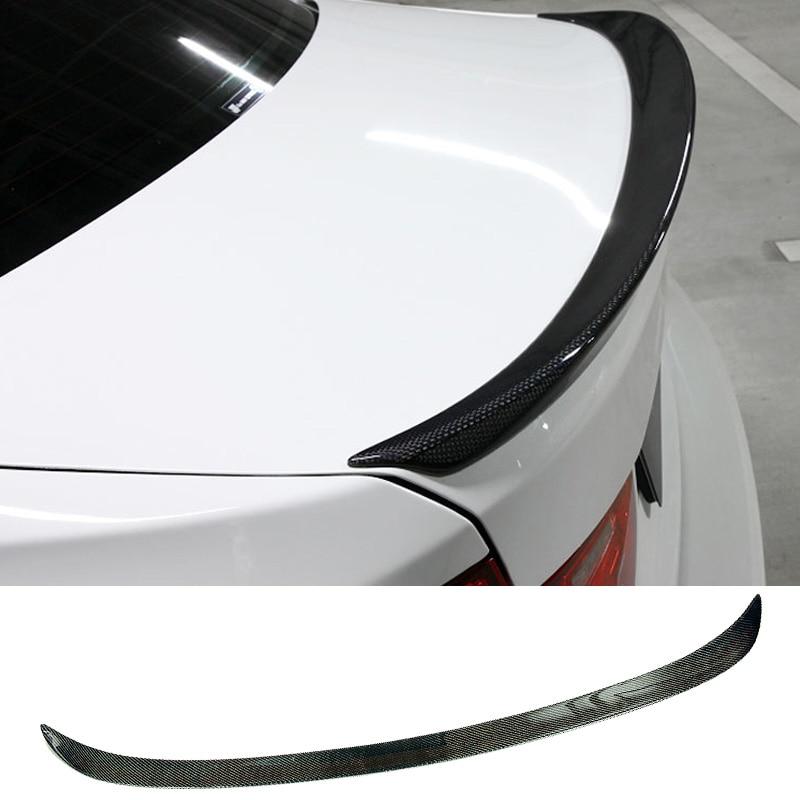 3D styl Carbon vlákno kufr Spoiler F30 320i 325i 335i 3-Series Fit pro BMW