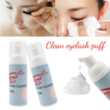 Grafting Clean Puff Eyelashes Cleaning Tools Cleansing Foam Eyelash Beauty Makeup Remover