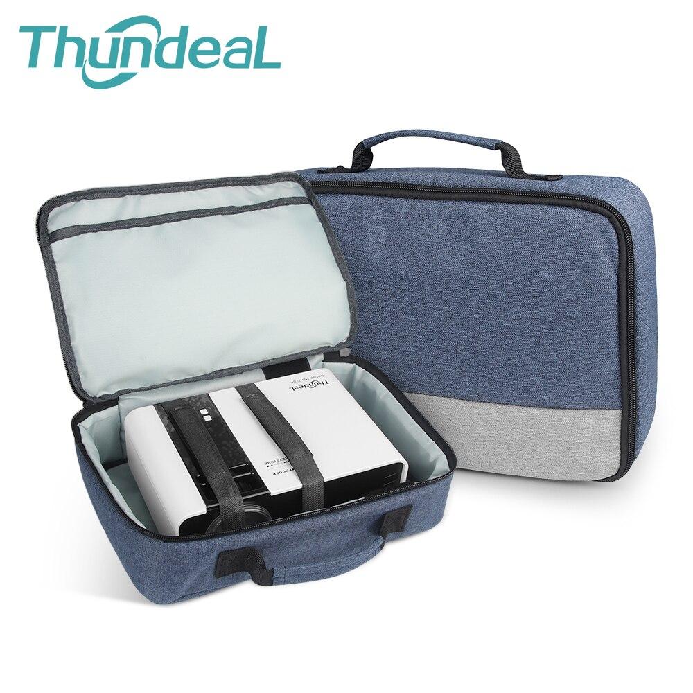 ThundeaL сумка для проектора сумка для переноски для Epson ENE Benq Мини проектор портативный чехол для путешествий TD90 TD60 сумка аксессуары
