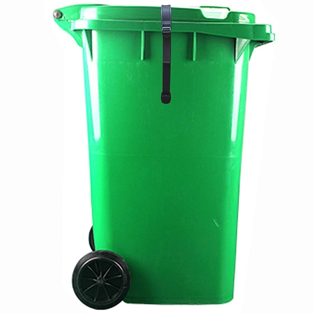 AFBC Bin Strap Garbage Lock Trash Can Lid Strap Garbage Can Security System