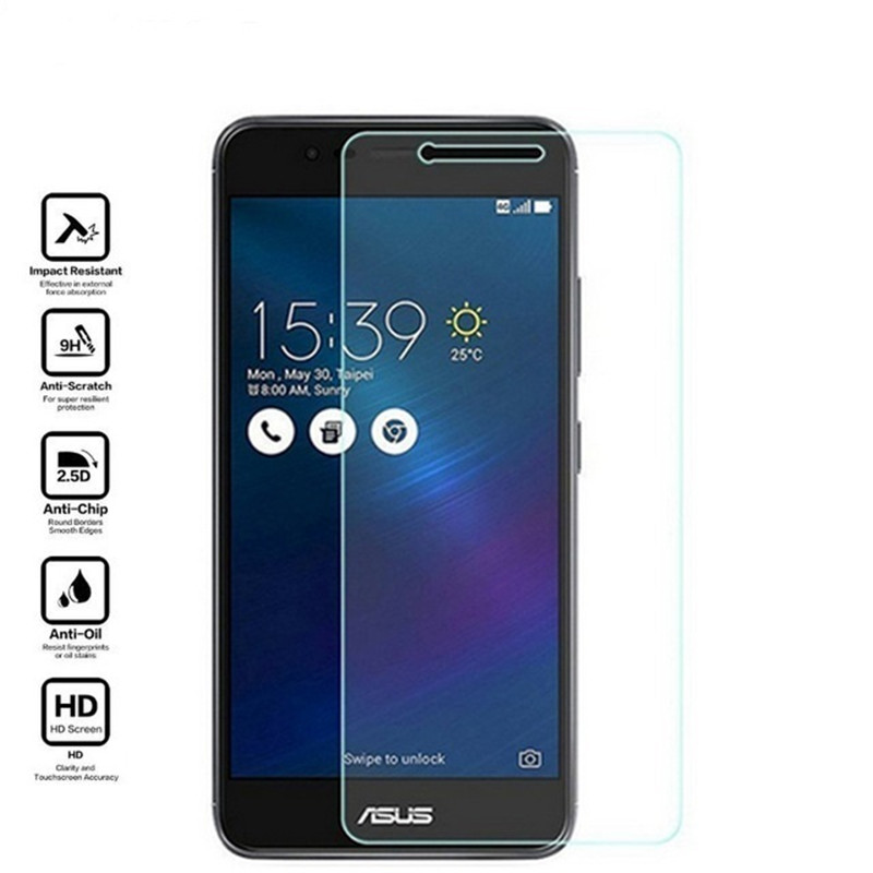 Mobile 9H Tempered <font><b>Glass</b></font> For <font><b>ASUS</b></font> <font><b>Zenfone</b></font> 3 Max ZC520TL <font><b>X008D</b></font> <font><b>GLASS</b></font> Protective Film Screen Protector cover image