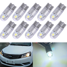 Car Clearance Reading License Plate Dome Door Tail Bulb Canbus T10 3030 2 SMD W5W 194 168 LED Light Side Turn Signal Lights 12V 2pcs t10 w5w led bulb 3030 smd 168 194 car accessories clearance lights reading lamp 12v auto white amber crystal blue red green
