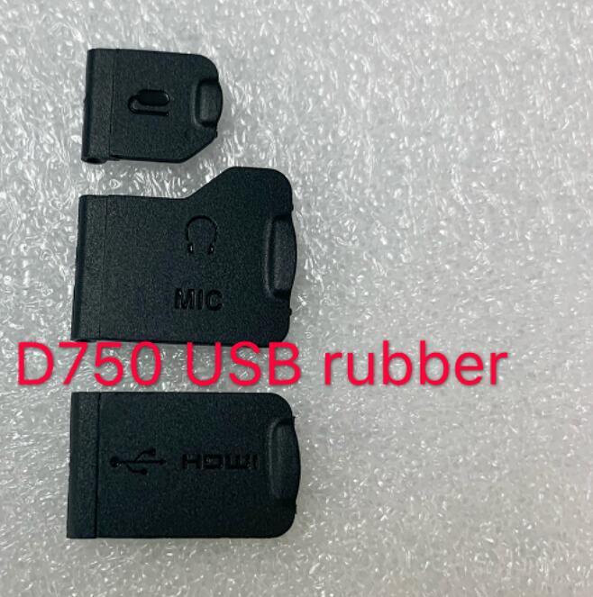 NEW For Nikon D750 USB Rubber Camera Repair Parts
