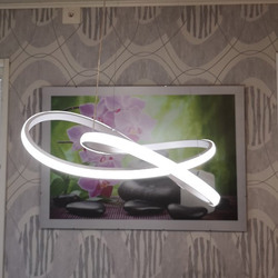 Акриловый светодиодный подвесной светильник белого цвета В креативном стиле, подвесной светильник для бара, современный подвесной светиль...