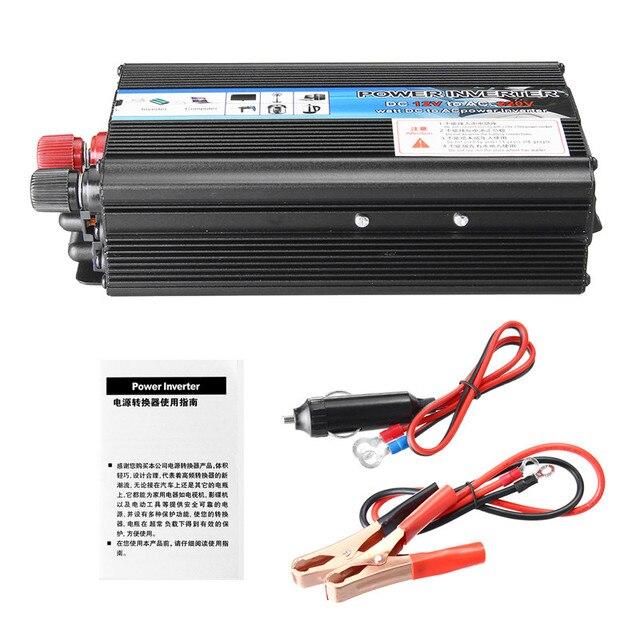 Solar Car Inverter DC12V to AC220V 3000/3500/4000/5000/6000W Max Modified Sine Wave Power Inverter Voltage Transformer Converter 5