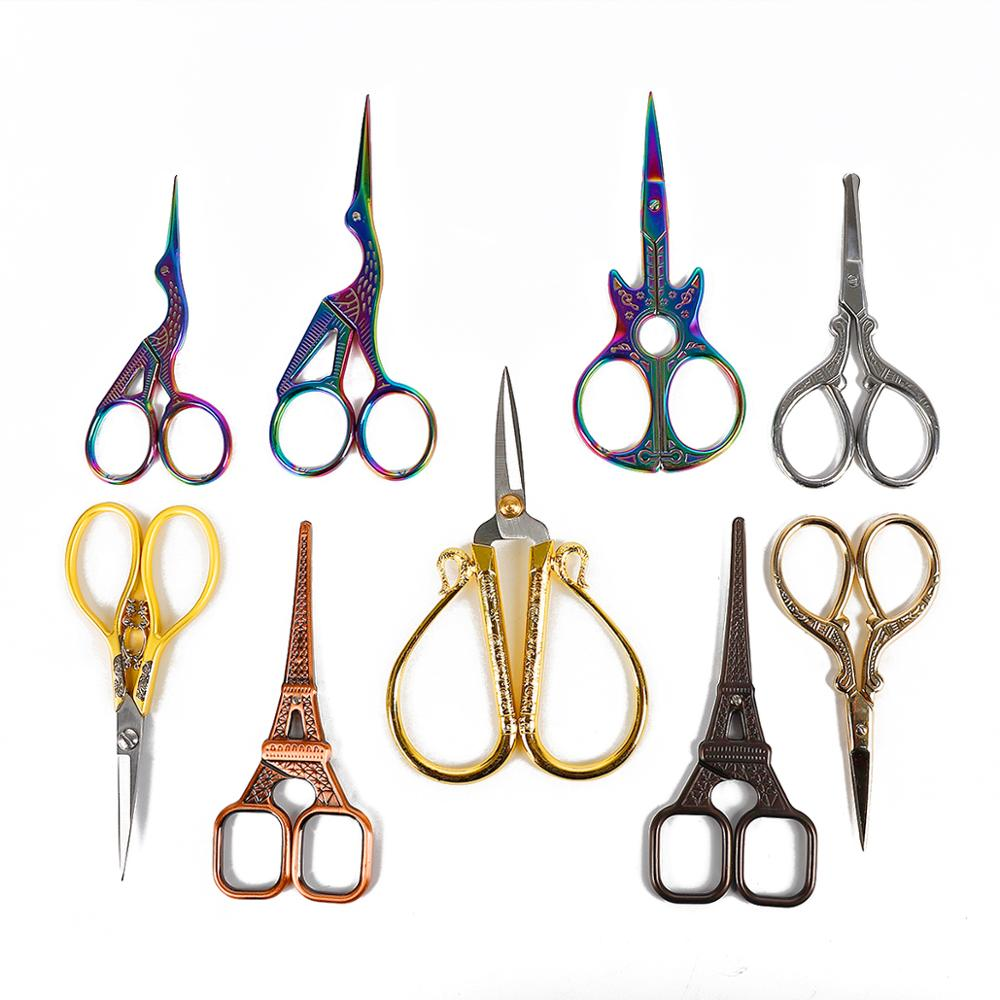 Scissor-Fabric Sewing-Tool Embroidery-Thread Cross-Stitch Tailor-Yarn Stainless-Steel
