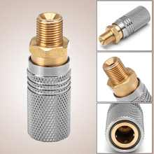 "Paintball PCP Air Gun Rifle 8mm Quick Release Coupler Male Kit 1/8"" BSP Thread Stainless Steel Brass Fittings Disconnect Socket(China)"