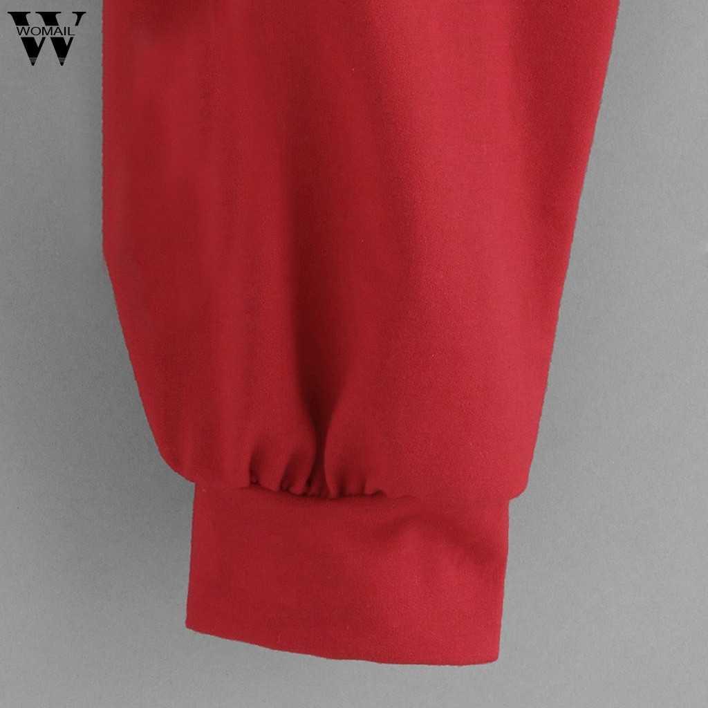 Womail Sweatshirts frauen Mode Plus Größe Floral Print Rundhals Herbst Sweatshirt Women'sSweatshirt S-XXL