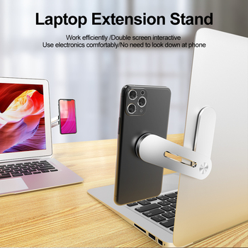 Jellico Screen Support Hoder Laptop Side Mount Connect Dual Monitor Display Tablet Bracket Clip Adjustable Phone Stand Holder