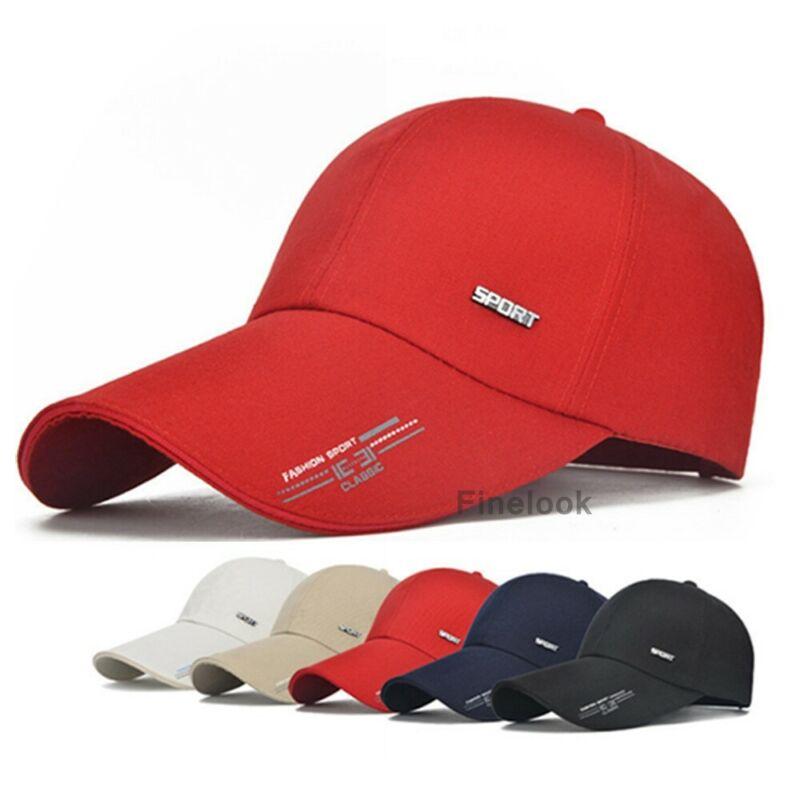 Men Women Baseball Cap Adjustable Low Profile Street Hip Hop Trucker Cap 2021 New Style Solid Letter Print Dad Hat