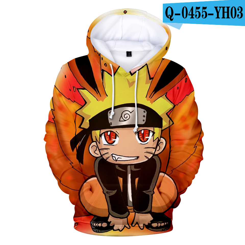 Best Seller Cosplay Sweatshirts Naruto Hoodie Children Adults Size