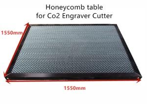 Image 1 - 1550*1550mm aluminum laser honeycomb table honeycomb platform laser machine parts special honeycomb for sheet material