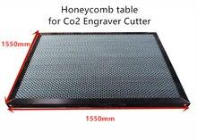 1550*1550mm אלומיניום לייזר כוורת שולחן כוורת פלטפורמת לייזר מכונת חלקי מיוחד כוורת עבור גיליון חומר