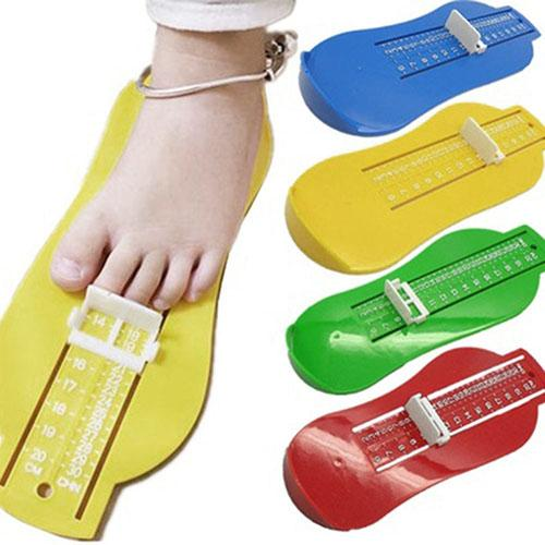 1Pcs Practical Useful Toddler Baby Infants Kids Shoe Gauge Foot Length Shoes Size Measuring Tool Baby Foot Souvenirs Measuring