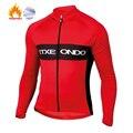 Велосипедная рубашка Etxeondo, трикотажная рубашка с длинным рукавом для велоспорта, MTB, зимняя термальная флисовая одежда, 2020