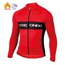 2020 etxeondo maillot ciclismo invierno manga longa ciclismo camisa da bicicleta roupas camisas mtb bicicleta wear inverno velo térmico
