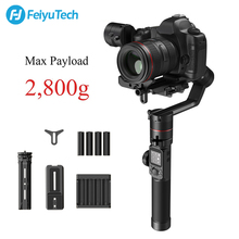 купить FeiyuTech AK2000 3-Axis DSLR Camera Stabilizer Tripod Follow Focus for Sony Canon 5D Panasonic GH5/GH5S Nikon D850 2.8KG Payload дешево