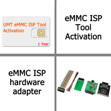 UMT EMMC ISP Tool Activation with EMMC ISP hardware adapter